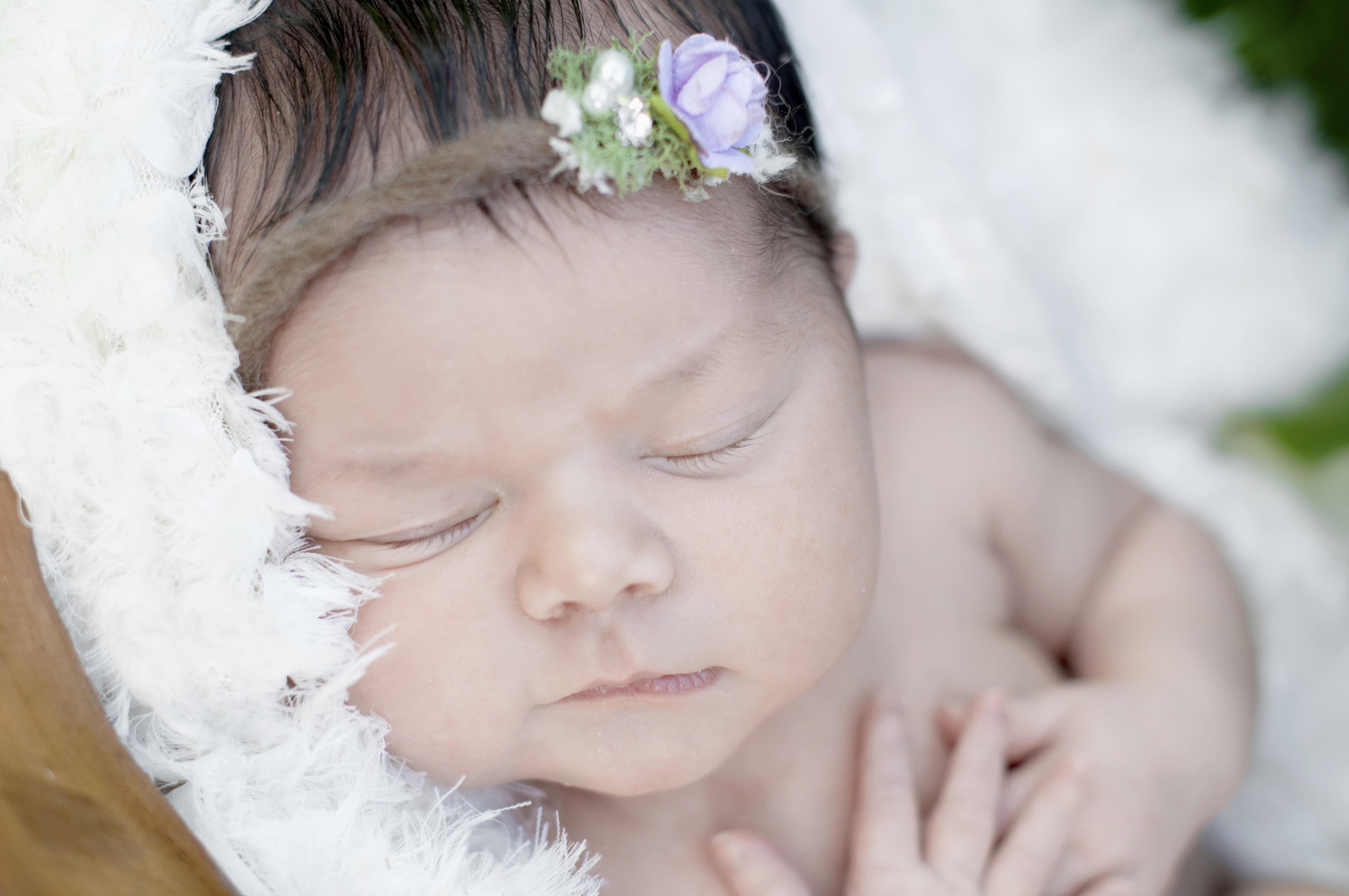 Newborn girl | Pearly Pics Photography - Honolulu, HI